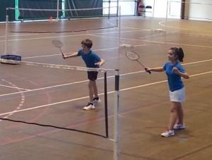 Lia et Maxime en action